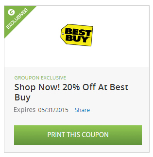 Groupon Coupons Best Buy