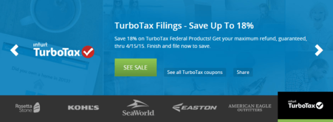 Groupon Coupons - TurboTax
