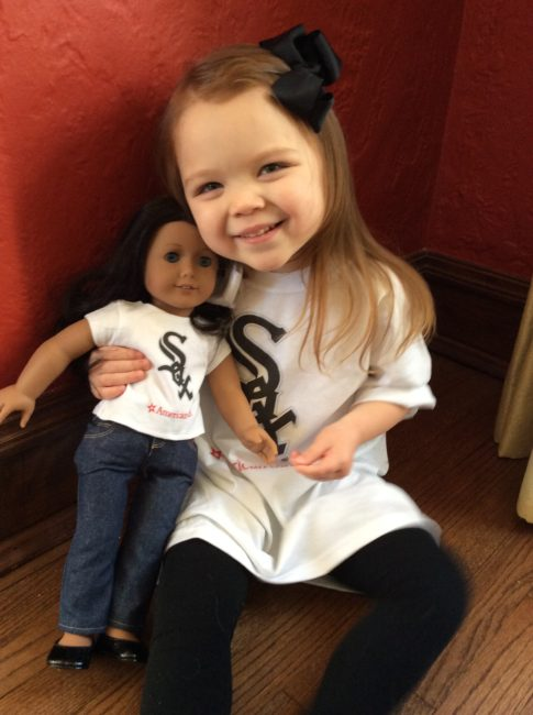 Chicago White Sox family promotions 2015 - American Girl 1