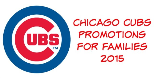 Chicago Cubs Promotions for Families
