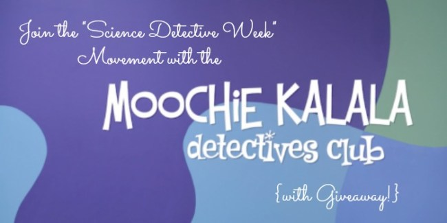 Celebrate Science Detective Week with Moochie Kalala