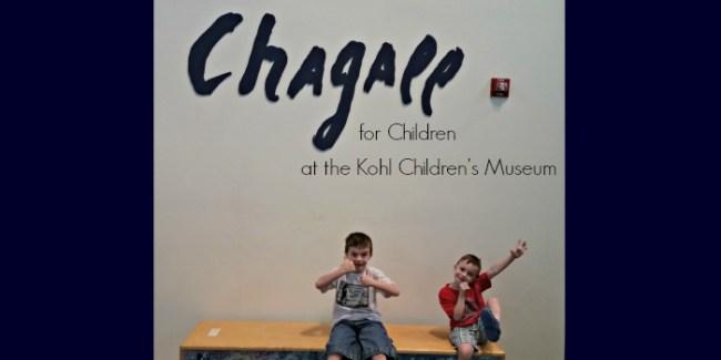 Chagall for Children at the Kohl Children's Museum - slider