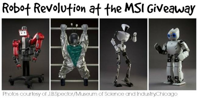 Robot Revolution at the MSI giveaway slider