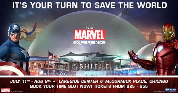 The Marvel Experience Chicago #tmxChicago