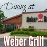 Family Dining at Weber Grill