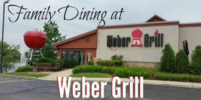 Family Dining at Weber Grill #webergram