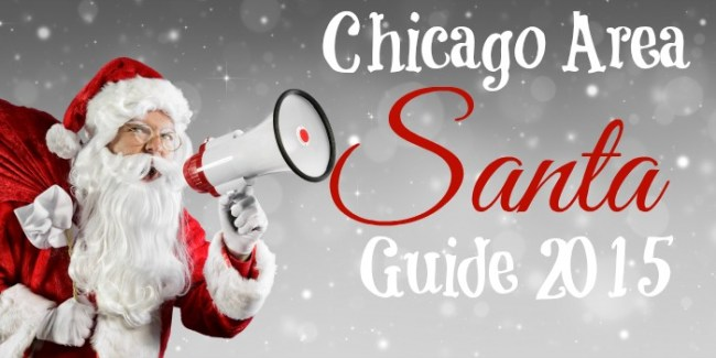 Chicago Area Santa Guide 2015 #Santa #Chicago