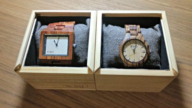 5 Great Gifts for Guys - JORD wood watches