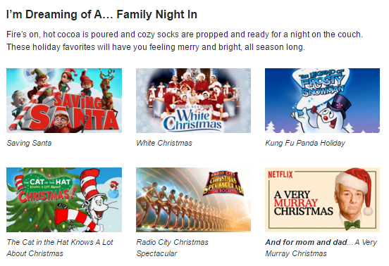 Netflix #StreamTeam December 2015 Family Night In [ad]