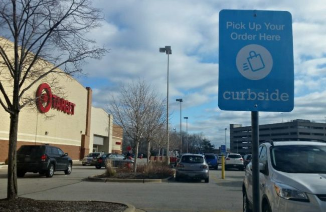 Target Curbside storefront