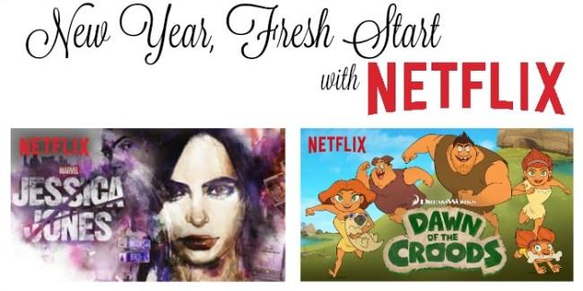 New Year, Fresh Start with Netflix #StreamTeam [ad]