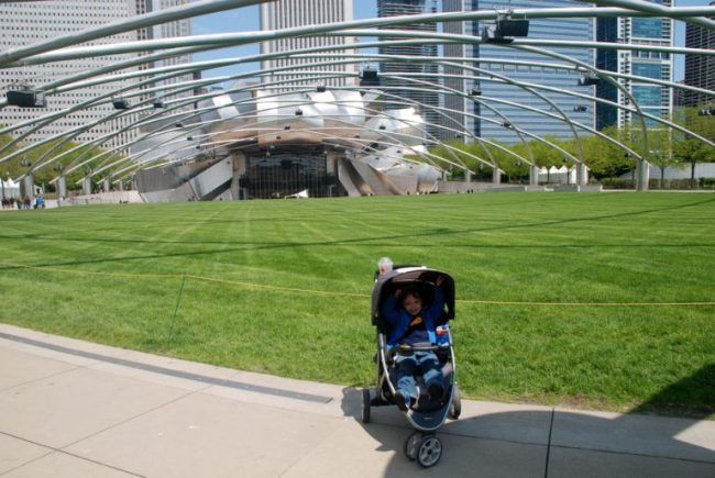 Chicago City Guide sponsored by Chicco #ChiccoKidsCityGuide [ad] - Pritzker Pavillion