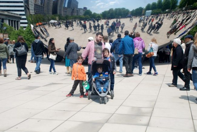 Chicago City Guide sponsored by Chicco #ChiccoKidsCityGuide [ad] - Cloudgate