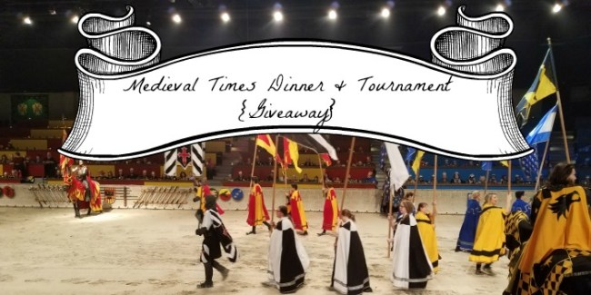 Medieval Times Dinner & Tournament giveaway #ad