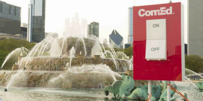 Buckingham Fountain to be Switched on Today