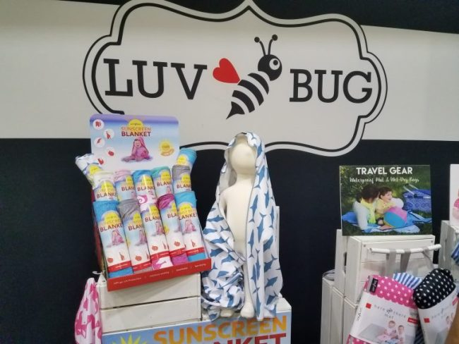 Luv Bug SPF 50 Sun Protection Blanket - baby products