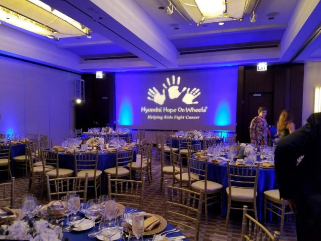 Hyundai Hope on Wheels Celebration of Life Chicago dinner
