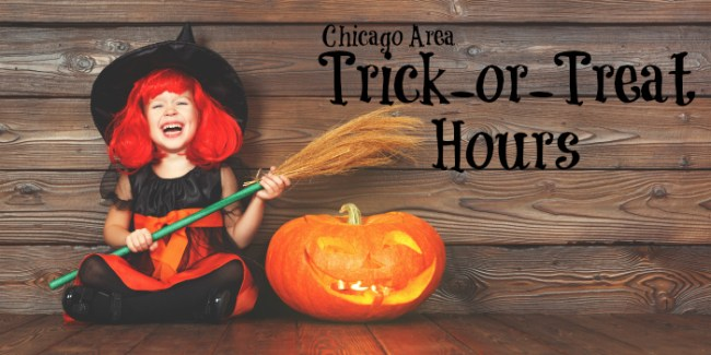 Chicago Trick-or-treat hours