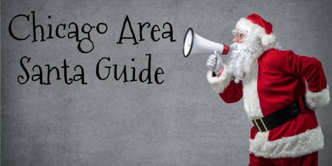 Santa Claus shouting using megaphone over gray background