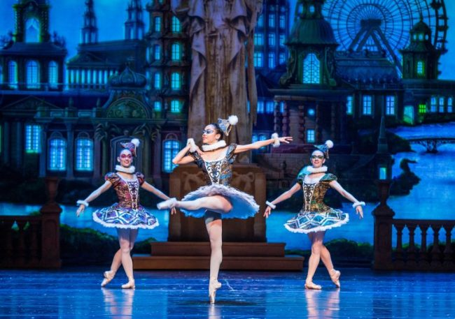 Ballerinas in The Nutcracker