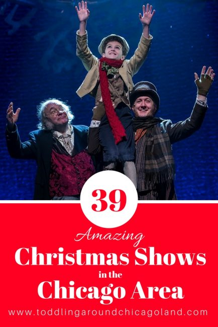 Christmas Shows in Chicago - pinterest image
