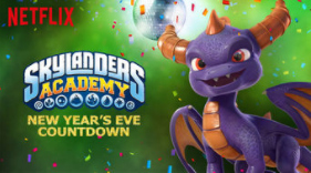 Skylanders NYE Countdown on Netflix #StreamTeam