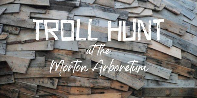 reclaimed wood art - Morton Arboretum