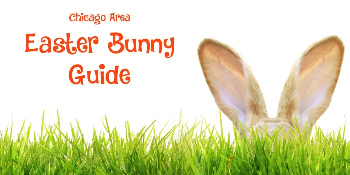Chicago Area Easter Bunny Guide