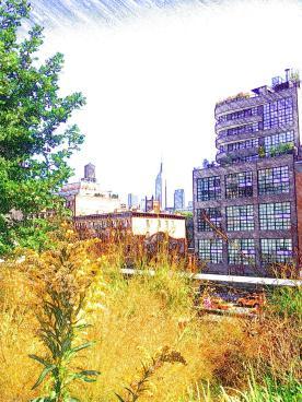 High Line - Brooklyn Bridge - New York