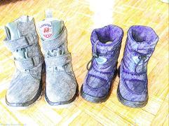 Neutrino snow boots -New York winter