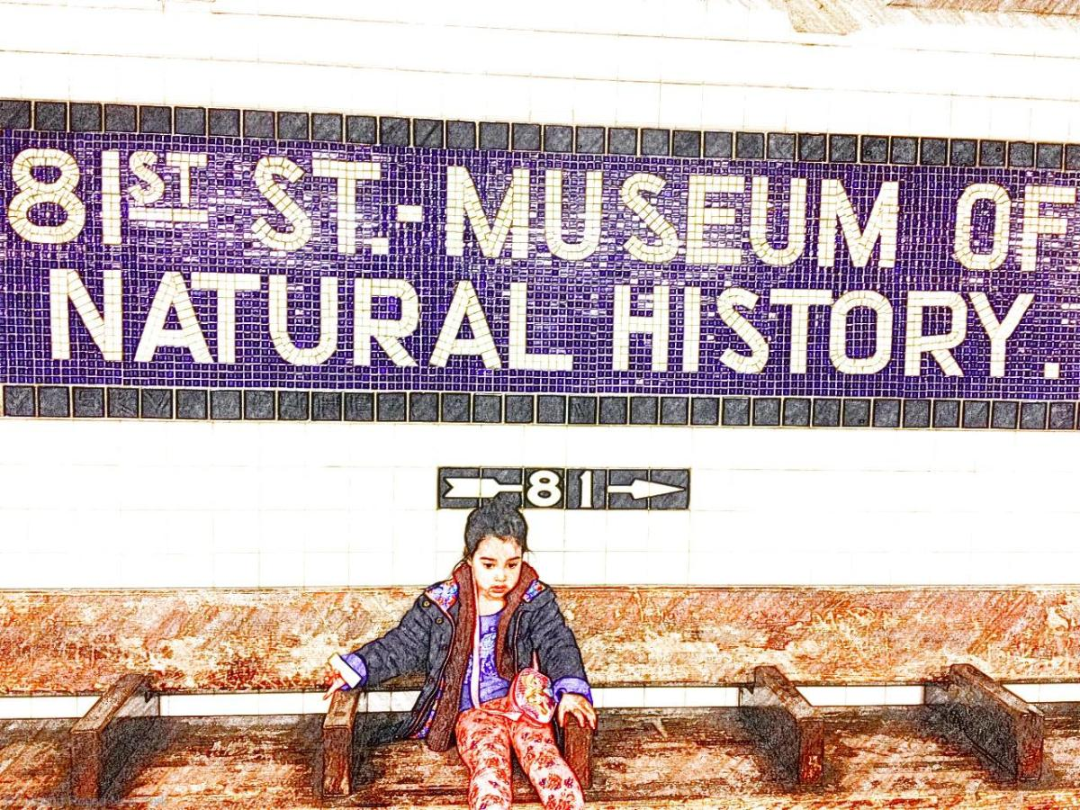 81st Street subway station mosaic