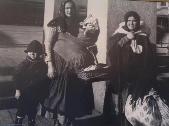 Humbling photos of immigrants at Ellis Island, their belongings in cloth bundles - Ellis Island New York