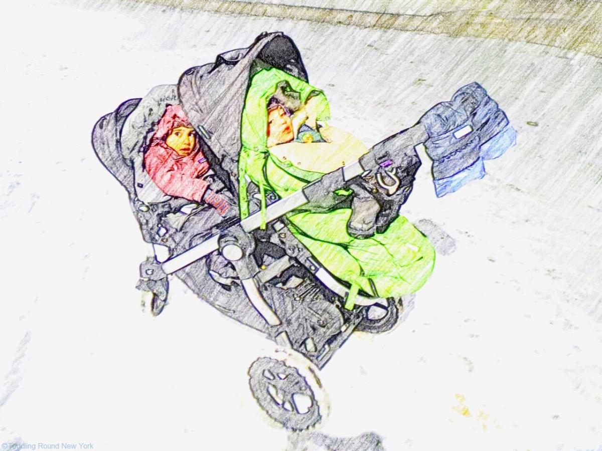 How to survive the school run when it's -12c