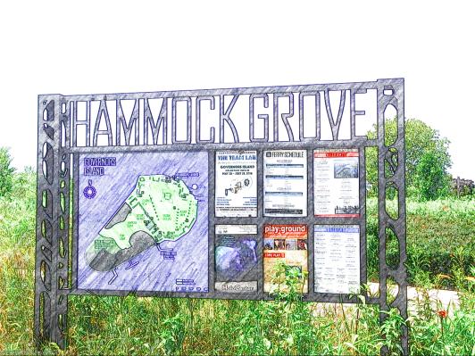Hammock Grove, Governors Island