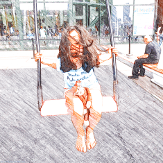 Musical Swings at Brookfield Place, Battery Park City
