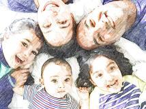 Family selfie - School