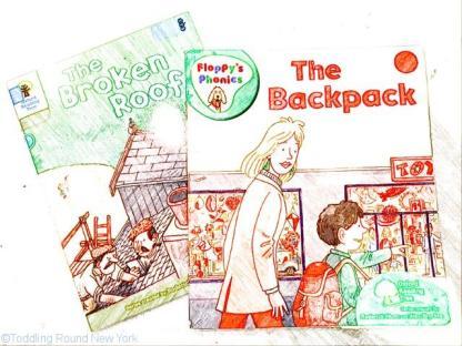 British phonic books - literacy - New York