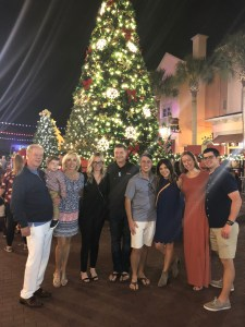Now Snowing Celebration Florida in Orlando at Christmas Toddling Traveler