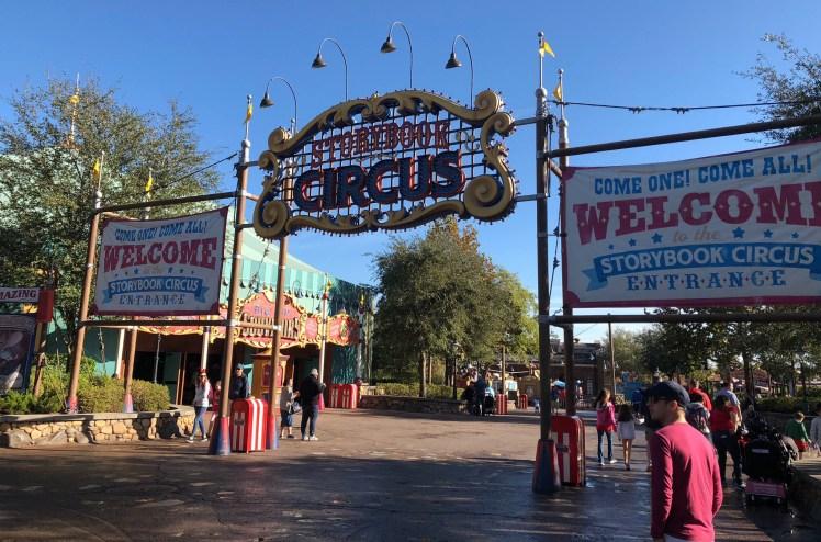 Storybook circus Magic Kingdom
