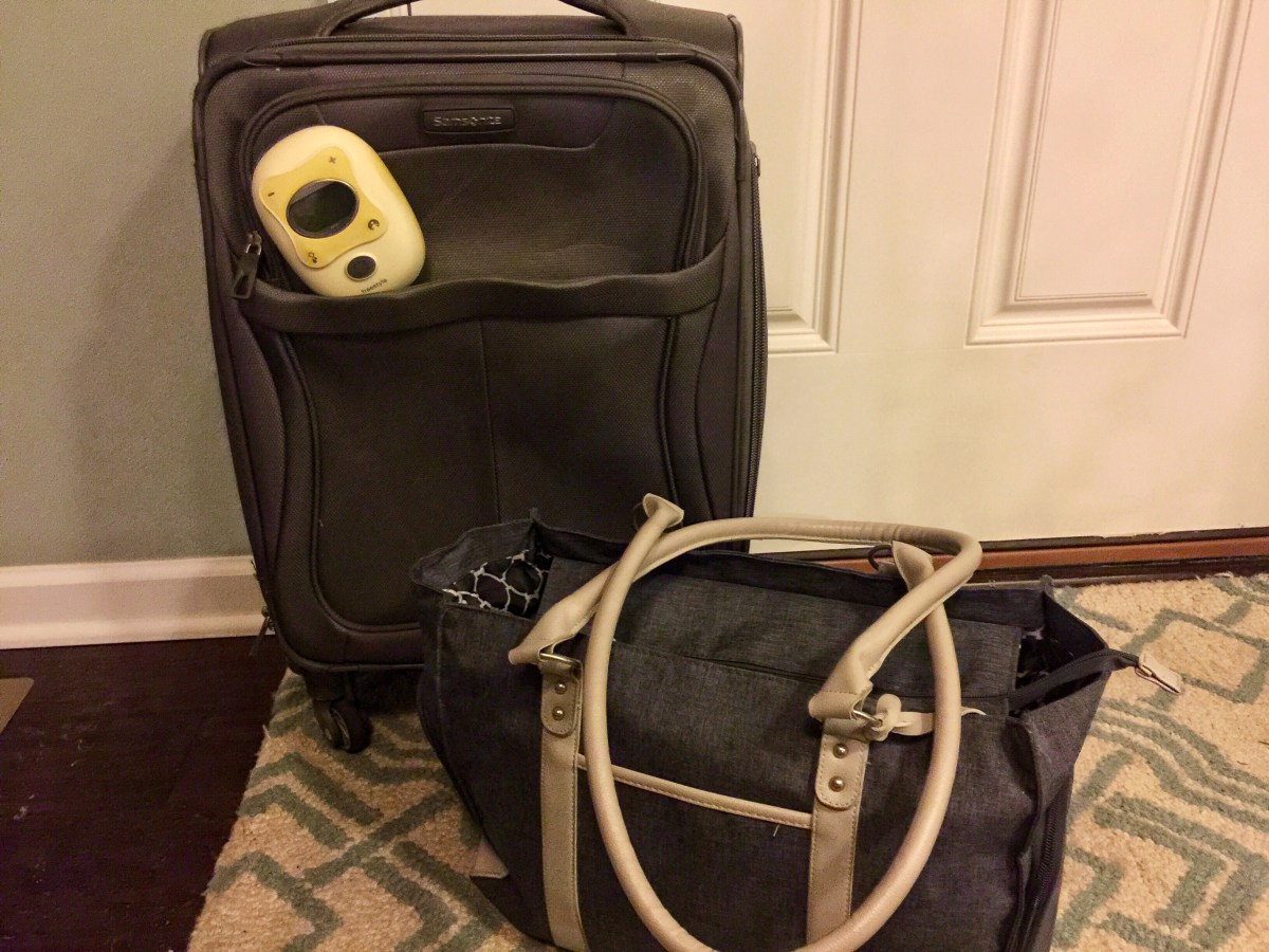 Travel Without Baby Pumps for Mom Traveling without baby while breastfeeding Toddling Traveler