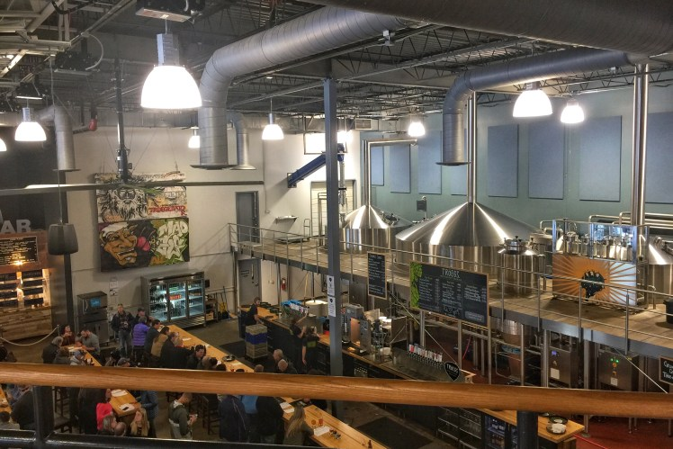 Girls Weekend in Hershey Troegs Brewing Company Toddling Traveler