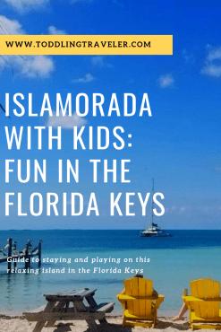 Family Vacation in Islamorada Florida Keys with Kids