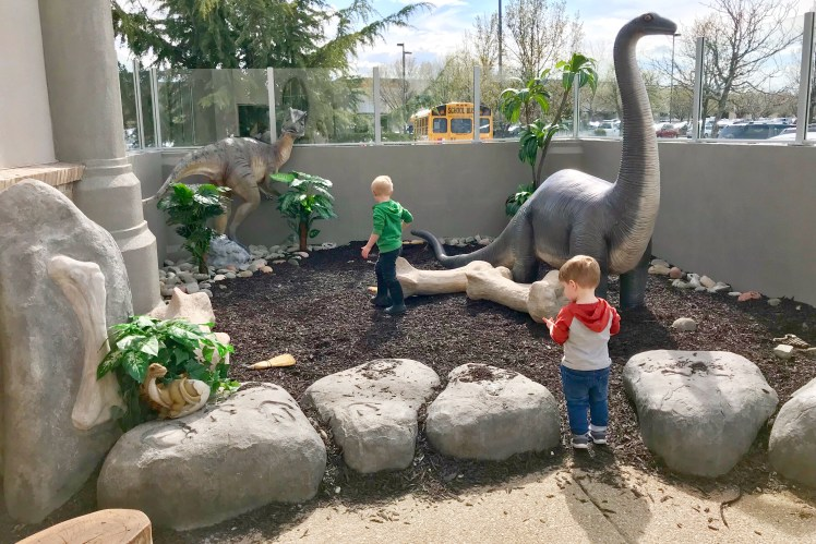 Boise with Kids Children's Museum of Idaho Dinosaur Playground
