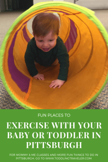 places to exercise with a baby or toddler in pittsburgh