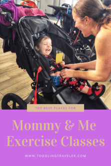 Mommy and me Exercise Classes