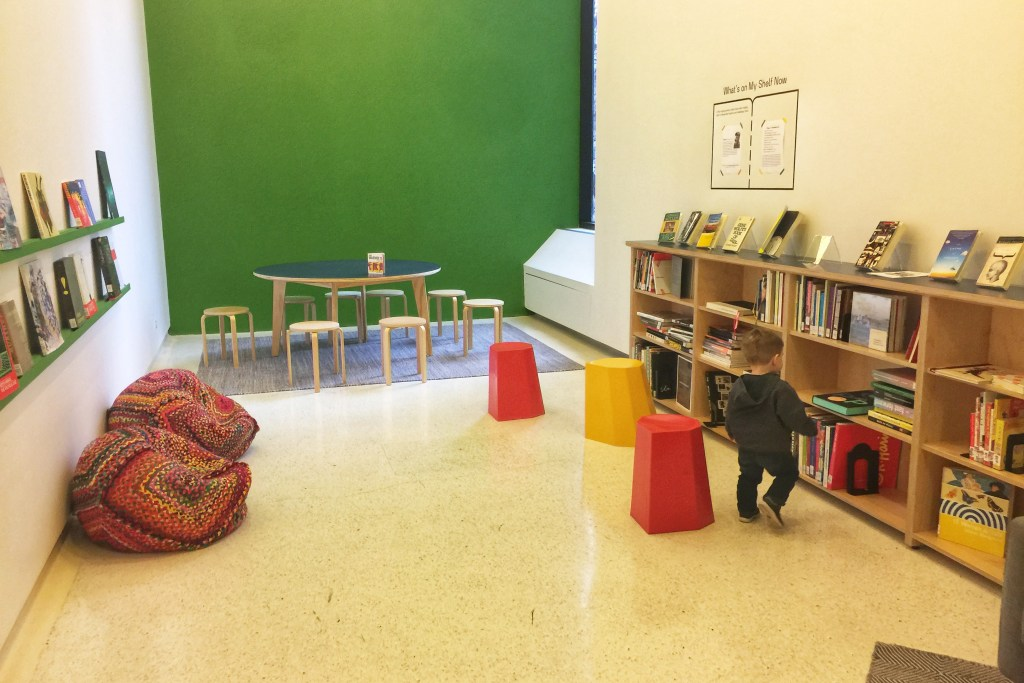 Reading Room at Carnegie Museum of Art with Toddlers Toddling Traveler