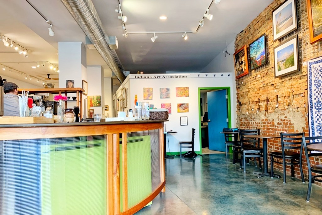 Artists Hand Coffee and Art Gallery in Indiana PA Toddling Traveler