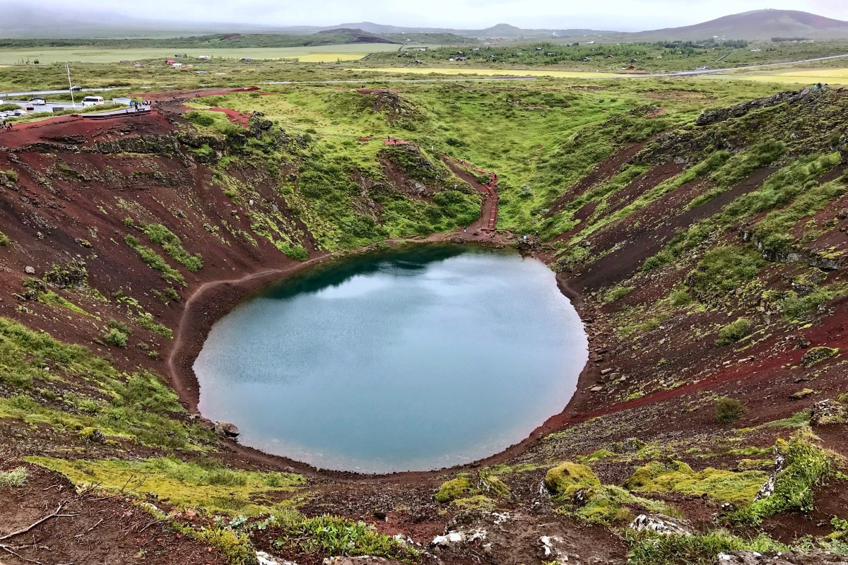 3 Days in Iceland Kerid Volcanic Crater Golden Circle Toddling Traveler