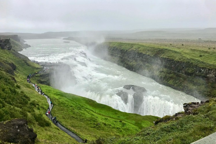 Gullfoss Waterfall Golden Circle 3 Days in Iceland Toddling Traveler