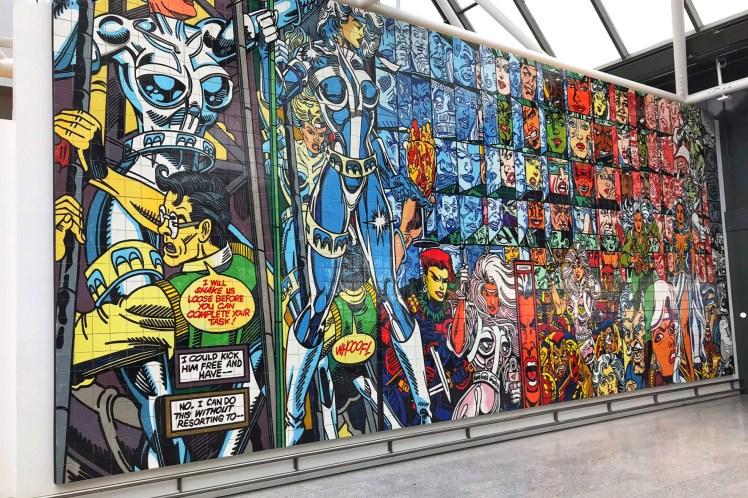 KEF Reykjavik Airport Mural 3 days in Iceland Toddling Traveler